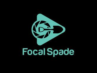 Focal Spade logo design