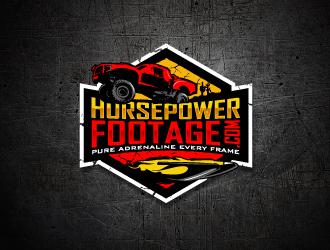 HorsepowerFootage.com logo design