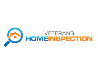 Veterans Home Inspection logo design - 48HoursLogo.com