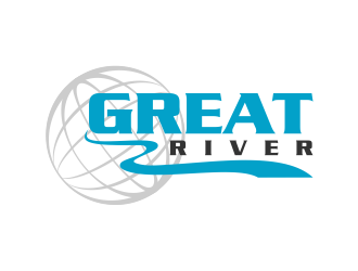 Great River logo design