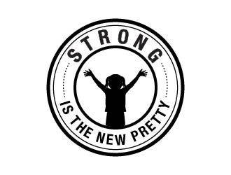 Strong is the New Pretty logo design