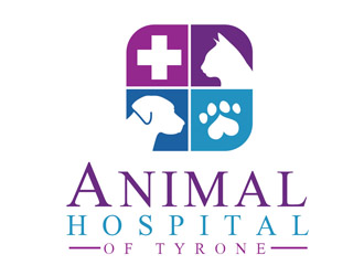 Animal Hospital of Tyrone logo design