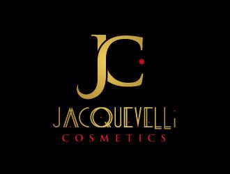 Jacquevelli Cosmetics logo design