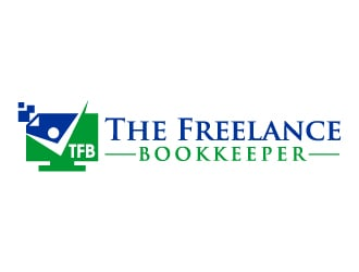 The Freelance Bookkeeper logo design