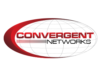 Convergent Networks logo design