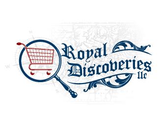 Royal Discoveries LLC logo design