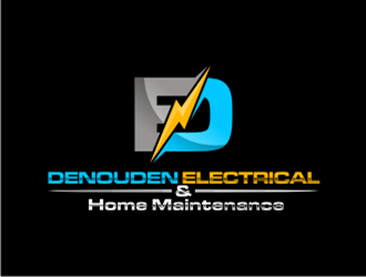 Denouden Electrical Home Maintenance Logo Design Concepts 16