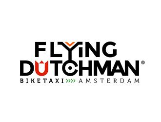 Biketaxi Company in Amsterdam logo design