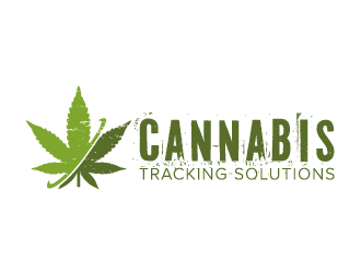 Cannabis Tracking Solutions logo design