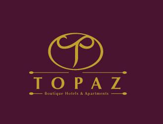 Topaz logo design