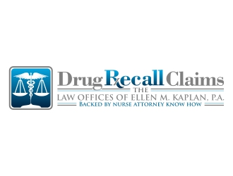 DRUG RECALL CLAIMS  THE LAW OFFICES OF ELLEN M. KAPLAN, P.A. logo design