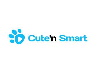 Cute'n Smart logo design