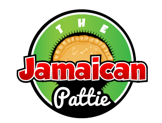 The Jamaican Pattie logo design