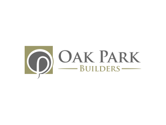 Oak Park Builders logo design