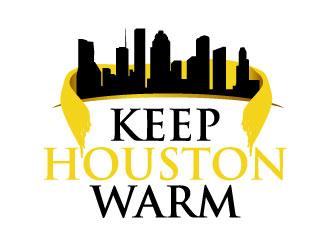 Keep Houston Warm logo design