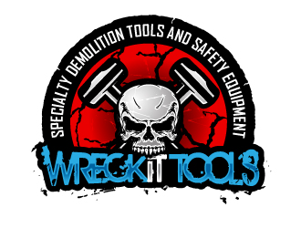 Wreck It Tools logo design