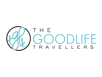 The good life travellers - happy to make use of acronym tglt logo design