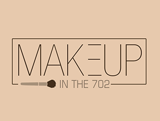 Makeup in the 702 logo design