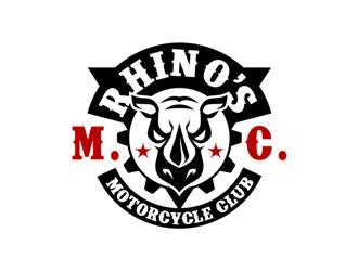 Rhino's M.C. logo design