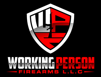 working person firearms L.L.C logo design