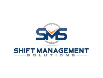 Shift Management Solutions logo design