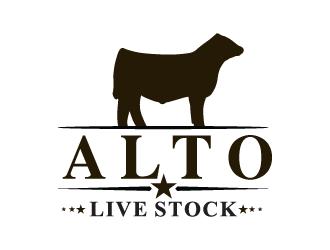 alto livestock logo design 48hourslogocom