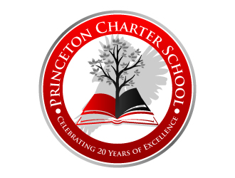 Princeton Charter School:  Celebrating 20 Years of Excellence logo design