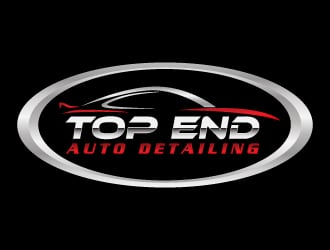 TOP END Auto detailing logo design
