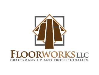 Floorworks LLC logo design
