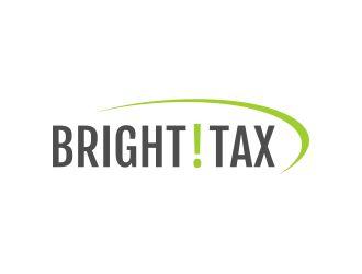 BRIGHT!TAX logo design
