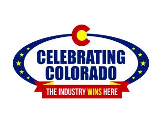 Celebrating Colorado: The Industry Wins Here logo design