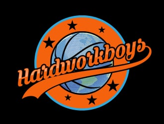 HARDWORKBOYS logo design