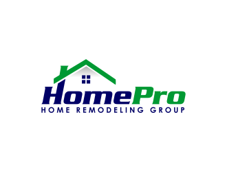 HomePro Home Remodeling Group logo design