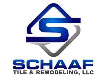 Schaaf Tile & Remodeling,LLC logo design