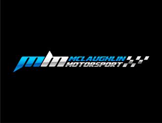 McLaughlin Motorsport logo design by haze