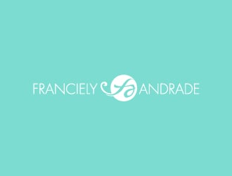 Franciely Andrade logo design