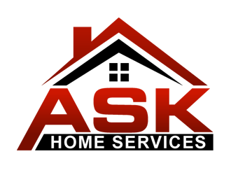 ASK Home Services logo design