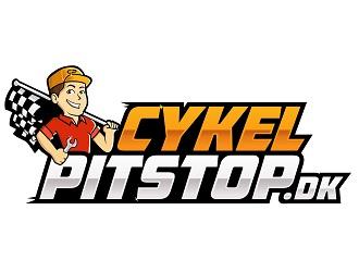 CykelPitstop.dk logo design