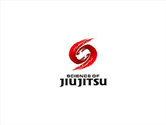 Science of Jiu Jitsu logo design