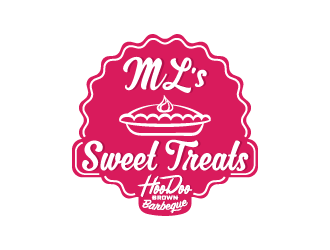 ML's Sweet Treats logo design