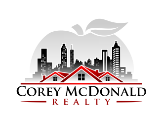 Corey McDonald Realty Group logo design