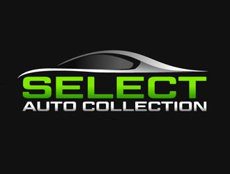 select auto collection logo design. Black Bedroom Furniture Sets. Home Design Ideas
