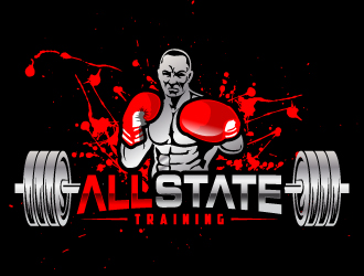 All State Training logo design