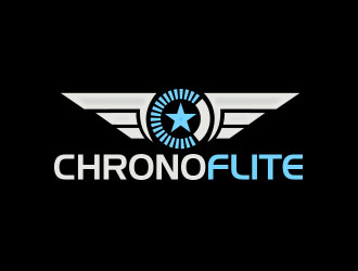 Chronoflite logo design