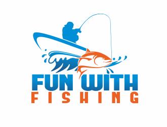 Fun with Fishing logo design - 48HoursLogo.com