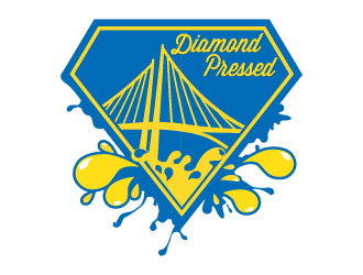 Diamond Press logo design