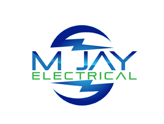 M Jay Electrical Logo Design Concepts 32