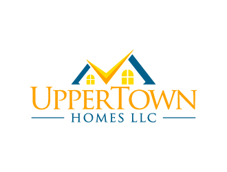 Uppertown homes llc logo design for Concept homes llc