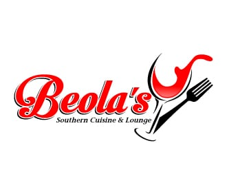 BEOLA'S Soulful Cuisine & Lounge logo design