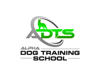 Alpha Dog Training School logo design